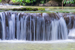 Waterfall in Thanbok Khoranee National Park, Krabi Royalty Free Stock Images
