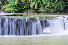 Waterfall in Thanbok Khoranee National Park, Krabi Stock Image