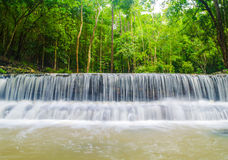 Waterfall of Thansadej - Koh Phangan National Park. In Suratthani Thailand Stock Images