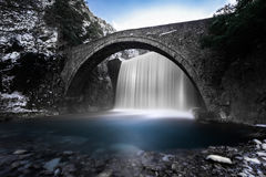 Waterfall, Thessaly, Greece Royalty Free Stock Photography