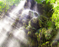 Waterfall at Thi Lo Su, Tak, Thailand Royalty Free Stock Photo