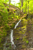 Waterfall in the Thuringian Forest Royalty Free Stock Images