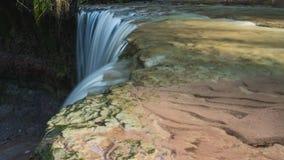 Waterfall in timelapse stock video