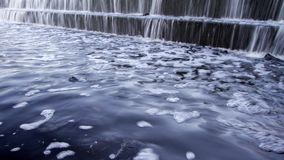 Waterfall timelapse stock video footage