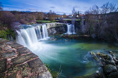Waterfall Tobalina Pedrosa Stock Photos
