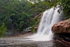 Tombo Waterfall Serra do Cabral Park royalty free stock photos