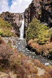 Waterfall in Tongariro National Park Stock Images