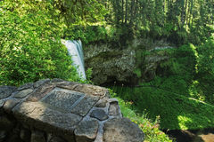 Waterfall Trail Stock Photography