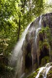 Waterfall Trinidad in Monasterio de Piedra Stock Images