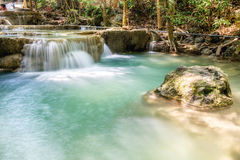 Waterfall tropical rain forest scenic natural Royalty Free Stock Photography