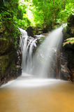 Waterfall in tropical rain forests Stock Photography