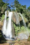 Waterfall in the tropics Royalty Free Stock Images