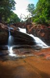 Waterfall in the tropics Royalty Free Stock Photos
