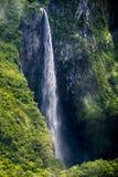 Waterfall trou de fer. Highest waterfall in la réunion island Stock Image