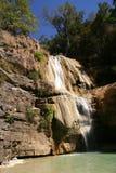 Waterfall  on the Tsiribinha river in Madagascar Stock Photo