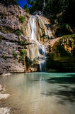 Waterfall  on the Tsiribihina river in Madagascar Royalty Free Stock Photography