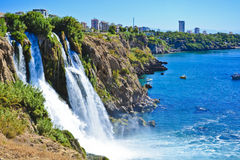 Waterfall in Turkey Royalty Free Stock Photo