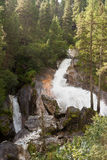 Waterfall in the tyrolean Alps Royalty Free Stock Photos