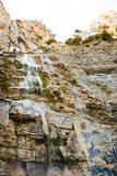 Waterfall uchan-su in Crimean mountains in autumn Stock Images