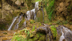 Waterfall in the umbria mountain Royalty Free Stock Images