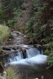 Waterfall in Utah. Waterfall at Log Haven in Salt Lake City Utah Stock Photography