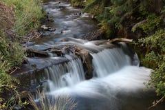 Waterfall in Utah. Waterfall at Log Haven in Salt Lake City Utah Stock Images
