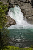 Waterfall in  Utladalen Royalty Free Stock Photography