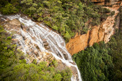 Waterfall Valley Royalty Free Stock Images