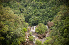 Waterfall Valley Stock Images