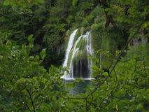 Waterfall, Vegetation, Nature, Nature Reserve stock photo