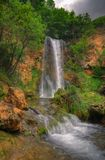 Waterfall Veliki buk /Lisine/, Republic of Serbia royalty free stock photography