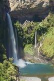 Waterfall Velo de la Novia - Maule, Chile Fotos de archivo libres de regalías