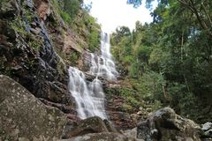 Waterfall, Venezuela Royalty Free Stock Photos