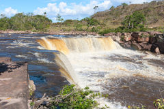 Waterfall in Venezuela Stock Photo