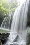 Waterfall in vertical composition Stock Photography