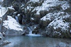 Waterfall of Vertova royalty free stock image
