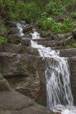 Waterfall. Very small waterfall in mountain Royalty Free Stock Photo