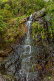 Waterfall on the Victoria Peak in Hong Kong Royalty Free Stock Photos