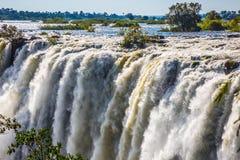 Waterfall Victoria after the rainy season Stock Photography