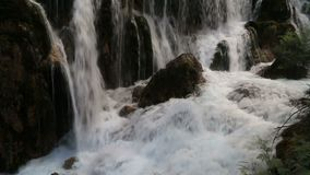 Pretty waterfall video stock video