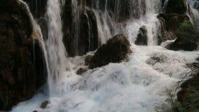 Pretty waterfall video stock video