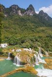 Waterfall in Vietnam Stock Images