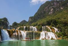 Waterfall in Vietnam Stock Photo