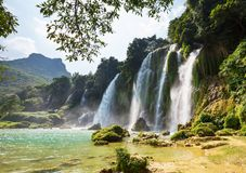 Waterfall in Vietnam Royalty Free Stock Photography