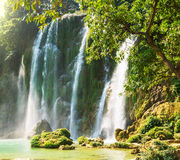 Waterfall in Vietnam Stock Photography