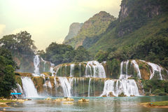 Waterfall in Vietnam Stock Photography