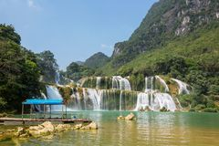 Waterfall in Vietnam Royalty Free Stock Photos
