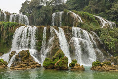 Waterfall at Vietnam Royalty Free Stock Images