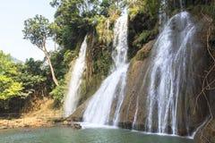 Waterfall in Vietnam Stock Images