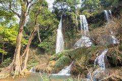 Waterfall in Vietnam Royalty Free Stock Image